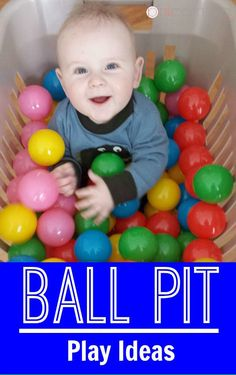 Does your baby boy love to play with balls? Does your baby girl enjoy a sensory experience? Check out these ball pit play ideas for your…