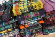 Tartan Scarves www.julia-cunningham.co.uk