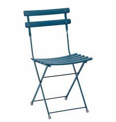 Silla plegable para terrazas de hostelería, con diseño de las sillas de jardín más prácticas. Disponibles en varios colores.