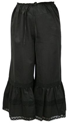 Oooh, why has it not occurred to me to make myself black bloomers before now? Must get some black lawn ordered.