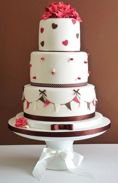 A fun 3 tier cake for many occasions!