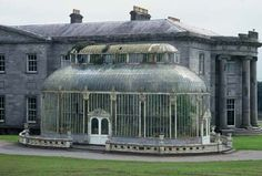 Ballyfin, Co. Laois. Richard & William Morrison finished this partially built new house in 1822. This is the conservatory