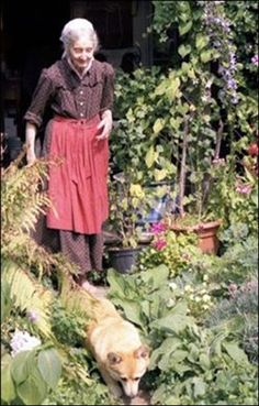 All through the long winter, I dream of my garden. On the first day of spring, I dig my fingers deep into the soft earth. I can feel its energy, and my spirits soar.  ~Unknown~ Photo is of Tasha Tudor