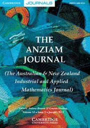 The ANZIAM Journal - http://journals.cambridge.org/ANZ