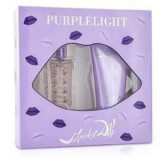 Purplelight Coffret: Eau De Toilette Spray 30ml-1oz + Body Lotion 100ml-3.4oz - 2pcs