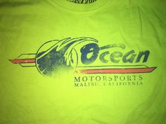 Lucky Brand Ocean Motorsports Malibu California T Shirt Large 101st Time Trials  #LuckyBrand #GraphicTee