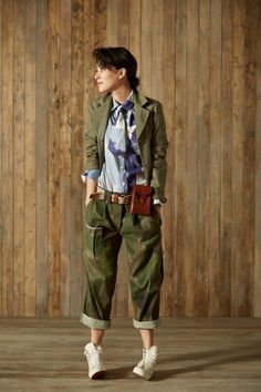 Nigel Cabourn Womens Collection Style