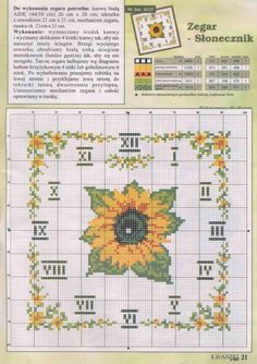 Sunflower Clock 2/2