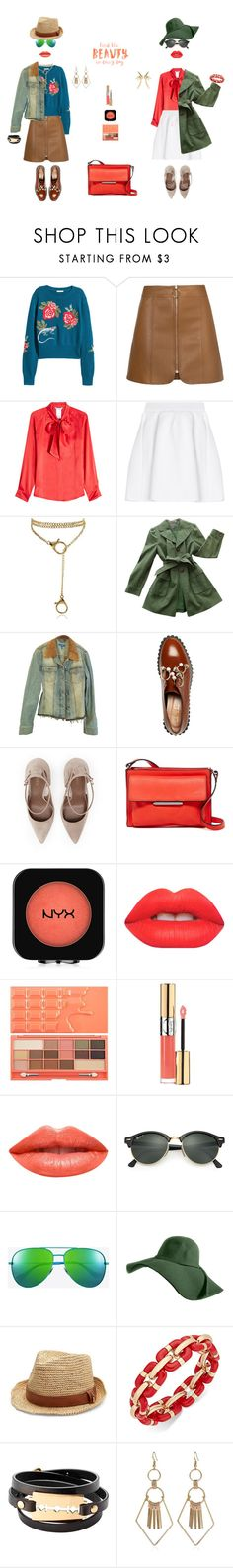 """""""FIND THE BEAUTY IN EVERYDAY"""" by k-hearts-a ❤ liked on Polyvore featuring MaxMara, malo, Ann Taylor, ESCADA, Coliàc Martina Grasselli, French Connection, NYX, Lime Crime, Yves Saint Laurent and Ardency Inn"""