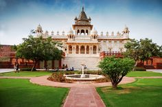 The Jaswant Thada is an architectural landmark located in Jodhpur. It is a white marble memorial built by Maharaja Sardar Singh of Jodhpur State in 1899 in memory of his father, Maharaja Jaswant Singh II.