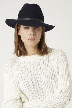 Classic fedora hat - latest at Topshop 2015