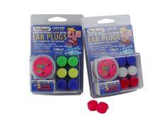 3-pair Pack of PUTTY BUDDIES Floating Formula Soft Silicone Ear Plugs for Swimming/ Bathing Putty Buddies http://www.amazon.com/dp/B0006B4MIO/ref=cm_sw_r_pi_dp_z14Pub1GSRKVR