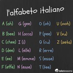 Italian for Kids: Learning the Alphabet [Audio and Visual] takelessons.com/...