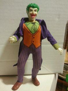 Joker Mego Type 2 1970s 100% Authentic Complete Batman Dark Knight Figure