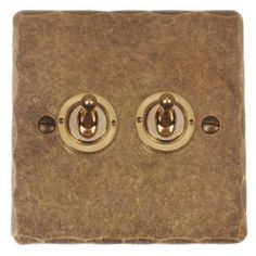 Looking for switches? Try our UK handcrafted, 2 gang brass dolly switch from huge range of metal switches and sockets in modern and period finishes for any room.