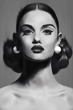 https://www.behance.net/gallery/40267741/Portrait-studies-II