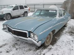 1968 Buick Skylark Custom sedan.