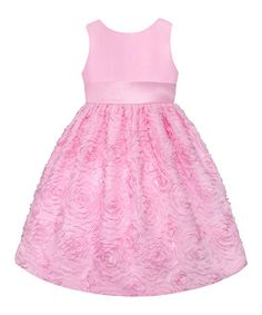 Another great find on #zulily! Ice Pink Floral  Dress - Toddler & Girls' Plus #zulilyfinds