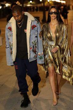 Kim Kardashian and Kanye West to Launch a Kids Clothing Line! Kanye West Outfits, Kanye West Style, Kim Kardashian Kanye West, Kim And Kanye, Urban Fashion, Daily Fashion, Kanye West Family, Yeezy Fashion, Fashion Corner