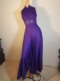 1960  Mod  Palazzo Jumpsuit by VintageRevengCouture on Etsy https://www.etsy.com/listing/458974888/sold-free-shipping-1960-mod-palazzo