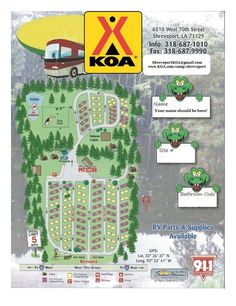 Make your Tent Camping site reservation at Shreveport / Bossier City KOA located in Shreveport, Louisiana. Camping Spots, Camping Theme, Tent Camping, Campsite, Outdoor Camping, Camping Ideas, Layout Site, Beach Dinner, Bossier City
