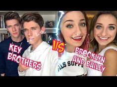 Collins Key and Devan (Key Brothers) VS Brooklyn and Bailey l Battle Musers l Musical.ly Compilation - YouTube