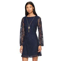 Women's AB Studio Scroll Lace Sheath Dress, Size:
