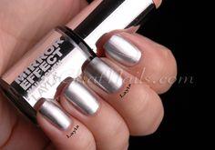 Mirror Mirror on the wall…  Author: marta Nail Palace, Mirror Effect, Mirror Mirror, Metallic Nails, Shellac, Essie, Hair And Nails, Nail Colors, Chrome