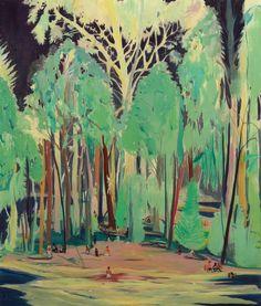 Jules de Balincourt, Blue Hours. Du 6 septembre au 18 octobre 2014, Galerie Thaddaeus Ropac, Paris.