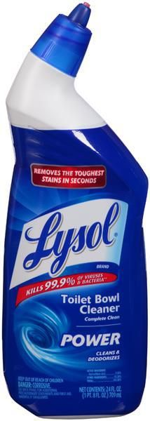 Lysol Complete Clean Toilet Bowl Cleaner Just $0.75 at Dollar Tree!
