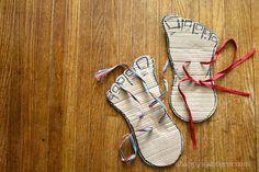 Cardboard Feet
