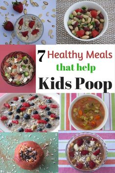 Tasty Tuesday: 7 Quick Meals that Help Children Poop Do you have a constipated child? These 7 meals that help children poop are rich in fiber, quick to make, delicious, and nutritious Easy Meals For Kids, Toddler Meals, Quick Meals, Kids Meals, Meals For Children, Healthy Children, Helping Children, Toddler Activities, Kids Constipation