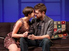 Olivia Thirlby and Topher Grace (off-broadway, Lonely I'm Not)