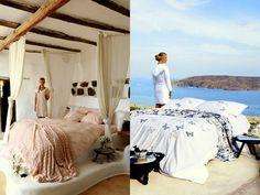 Many editorial magazine photo shoots in villa Drakothea