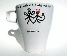 Gemini Mug Zodiac / Astrology Personalized Mug Wholesale Bulk