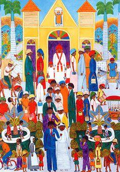 Art of Haiti - Seymour Etienne Botex Haitian Art, Folk, Culture, History, Projects, Painting, Log Projects, Historia, Blue Prints
