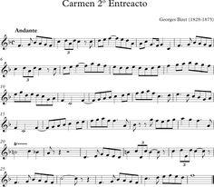 2º Entreacto de la Ópera Carmen de Bizet