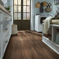 Luxury vinyl plank flooring to fit any room in your home. Our easy to install luxury vinyl floors come in tile, plank and vinyl sheet flooring in every style. Diy Wood Floors, Diy Flooring, Kitchen Flooring, Flooring Ideas, Modern Wood Floors, Bathroom Wood Floors, Hardwood Floors In Kitchen, Wood Floor Kitchen, Provence