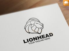 Lion Head by NIN-ideate on @creativemarket