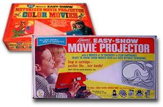 Kenner Easy-Show Projector.  What fun - sit in the dark closet and watch slide shows on the wall. 60's version of video (you could watch the same thing a hundred times!)