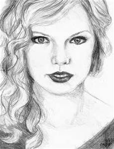 pretty sketches of celebrities - Bing images