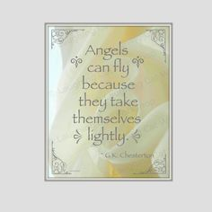 Funny Angel wall art Cute Angel Print House by laughingcatworkshop