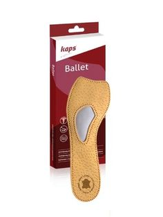 Orthotic 3/4 Leather Insoles for Pumps/heels with Arch Support, Kaps Ballet, All Sizes - http://droppedprices.com/slippers/orthotic-34-leather-insoles-for-pumpsheels-with-arch-support-kaps-ballet-all-sizes/