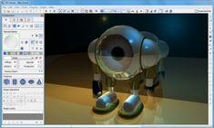 3D Canvas software free ScreenCapturePOVRayRaytrace