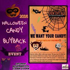 🎃2016 Halloween #CandyBuyback
