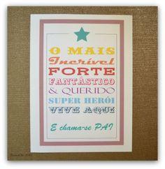 BistrotChic: Cartão para o Dia do Pai.