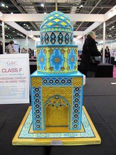 Iranian Mosque Wedding Cake