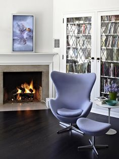 Wunderbar Love This Lavender Egg Chair!