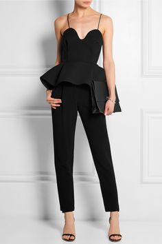 Chalayan top, Adam Lippes pants, Givenchy shoes, Proenza Schouler clutch