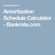 1000 ideas about mortgage amortization calculator on pinterest mortgage amortization